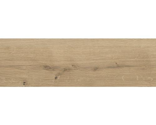 Carrelage pour sol en grès cérame fin Sandwood beige 18,5x59,8cm