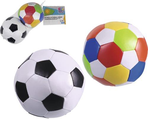 Balles douces dans un style de ballon de football lot de 2