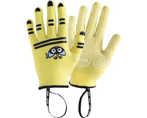 Gants pour enfants AXEL-IT 5-6 ans 1 paire jaune