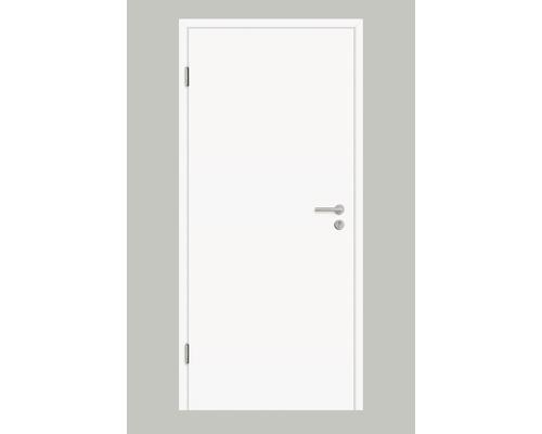 Porte d'entrée appartement 37 dB Pertura CPL blanc KK III 86,0x198,5 cm poussant gauche
