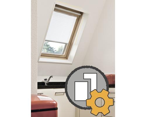 Store plissé pour fenêtre de toit sur mesure en magasin à partir de 55€