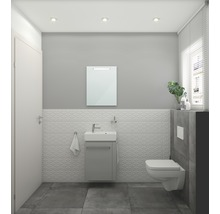 Keramag / GEBERIT LED Badspiegel Renova Compact 65x50 cm IP 44 (fremdkörper- und spritzwassergeschützt)-thumb-1