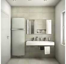 LED Badspiegel DSK Silver Boulevard 70x120 cm IP 21 (tropfwassergeschützt) (tropfwassergeschützt)-thumb-2