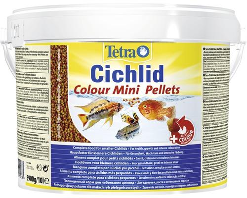 Nourriture pellets Tetra Cichlid Colour Mini 10 l