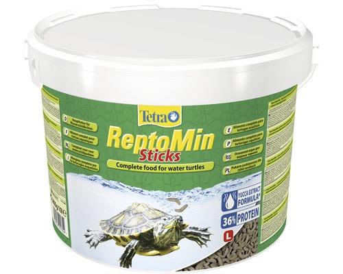 Nourriture premium Tetra ReptoMin Sticks pour tortues d'eau 10 l