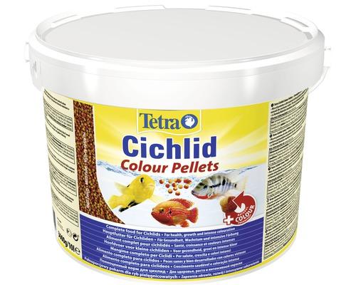 Nourriture pellets Tetra Cichlid Colour 10 l
