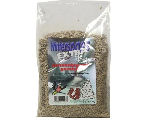 Nourriture d''hiver pour oiseaux graines de tournesol pelées 1kg