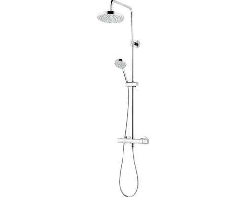 Duschsystem Schulte Modern DuschMaster Rain lll ExpressPlus EP969260 02 chrom mit Thermostat
