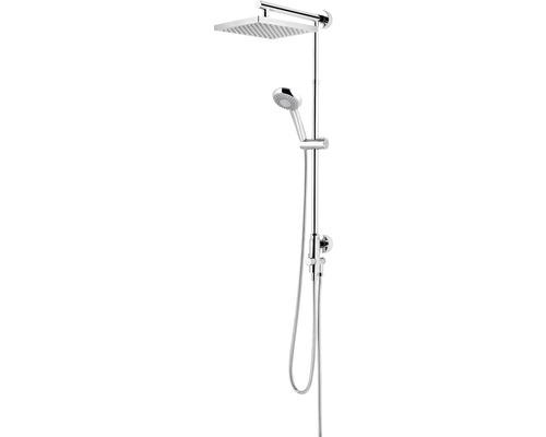 Duschsystem Schulte Classic DuschMaster Rain ExpressPlus EP9631 02 eckig chrom mit Umsteller