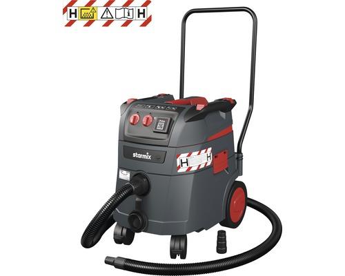 Aspirateur eau et poussière Starmix iPulse H-1635 Safe Plus classe H aspirateur