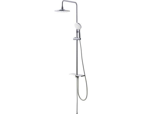 Système de douche Avital avec tablette et inverseur