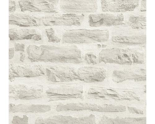 Papier peint intissé 35580-4 pierre greige