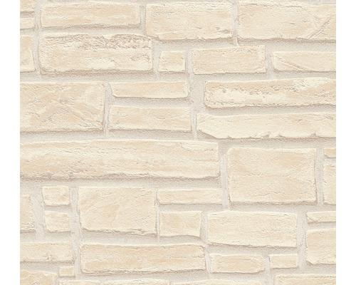 Papier Peint Intisse 6623 23 Aspect Brique Beige Hornbach Luxembourg