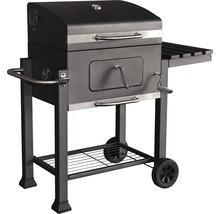 Barbecue au charbon de bois Montreal 56x41,5cm, acier inoxydable