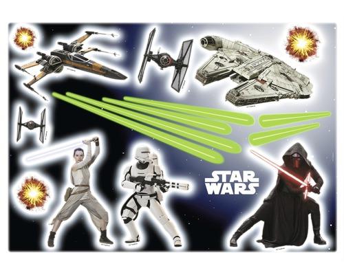 Sticker mural Star Wars EP7 50 x 70 cm
