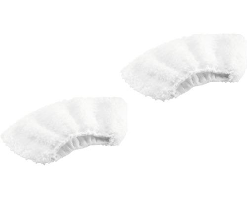 Jeu de bonnettes microfibres Kärcher pour nettoyeur à vapeur