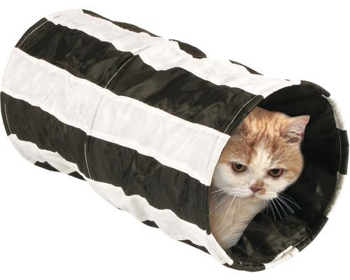 Feline Cruiser Outdoor-Rascheltunnel 50 cm, schwarz-weiß