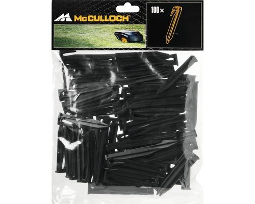 Crochet pour câbles de délimitation Mc Culloch, 100 pièces