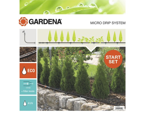 Kit d''arrosage GARDENA Micro-Drip Taille M