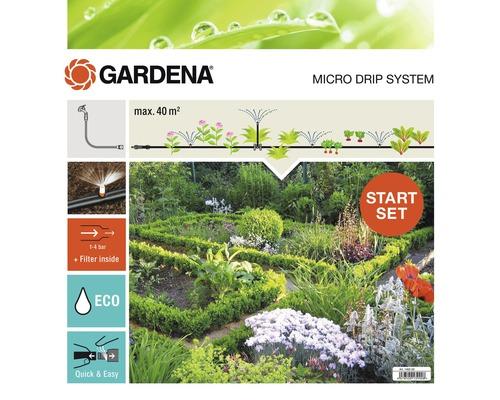 Pack de démarrage pour kit d''arrosage GARDENA Micro-Drip