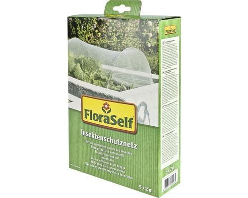 Filet de protection contre les insectes FloraSelf 5x2m blanc