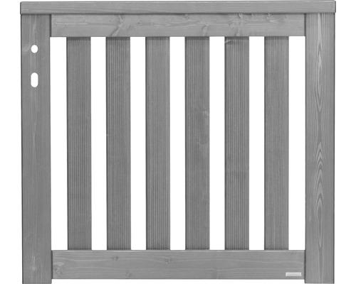 Portail à un vantail Konsta Girona 100x90cm à gauche, gris clair