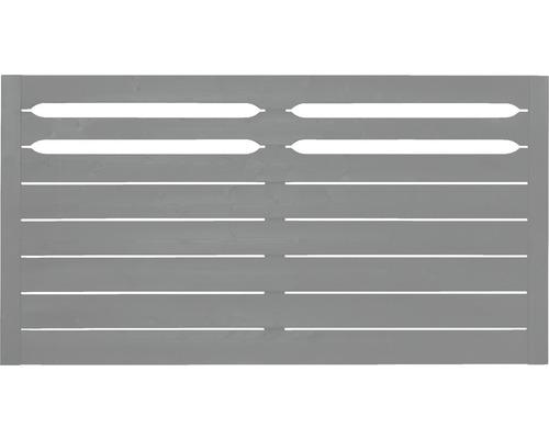 Clôture de jardinet Konsta Ground 180x95cm, gris clair
