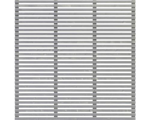 Treillage design Konsta 180x180cm, gris basalte