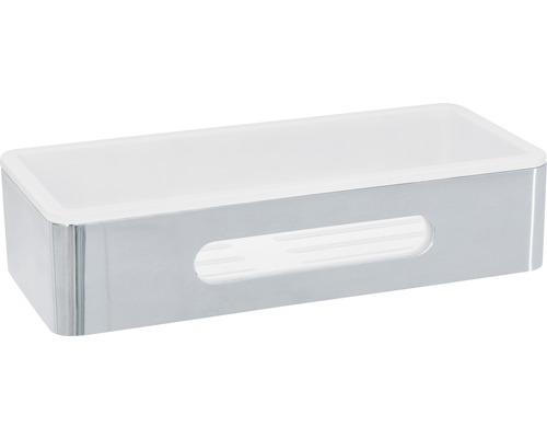 Panier de douche rectangulaire, 25cm, acier inoxydable