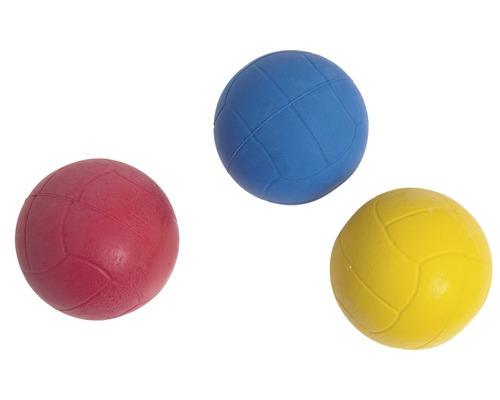 Balle de mousse en caoutchouc 6 cm, trié par couleur