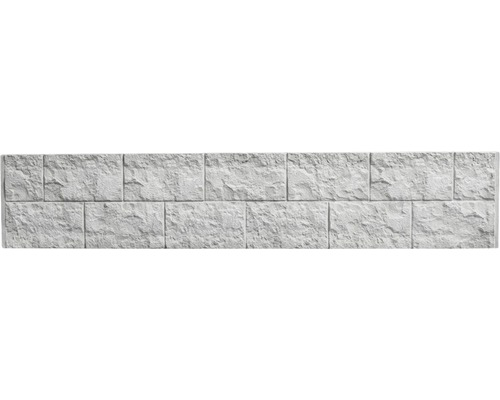 Plaque de clôture en béton Standard Casa Borsika 200x38,5x3,5cm