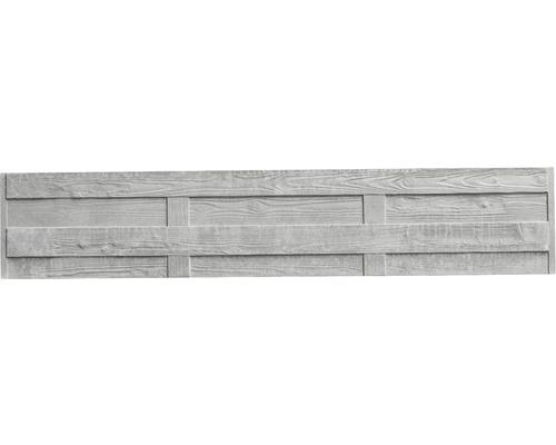 Plaque de clôture en béton standard Elegant 200x38,5x3,5cm
