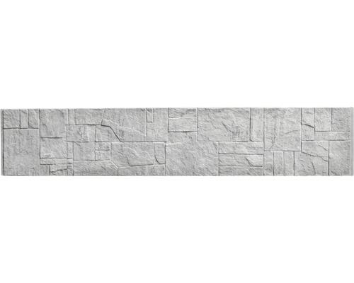 Plaque de clôture en béton Standard Flagstone 200x38,5x3,5cm