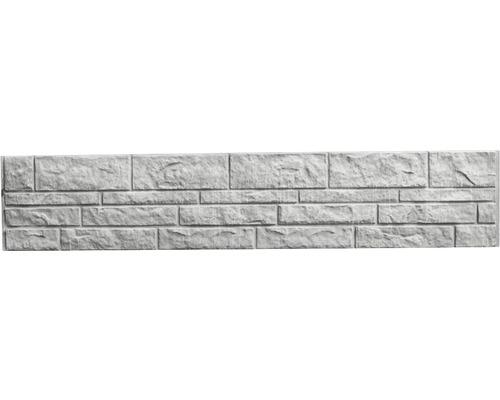 Betonzaunplatte Standard Fels 200x38,5x3,5cm