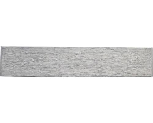 Plaque de clôture en béton Standard Nevada 200x38,5x3,5cm