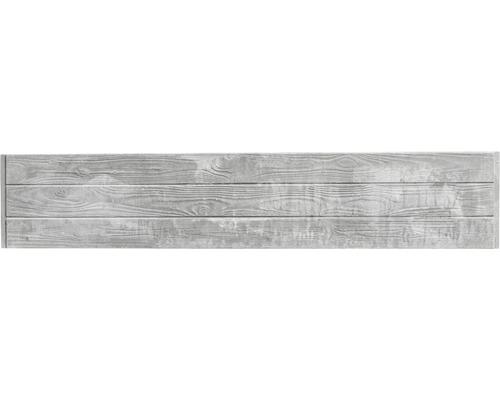 Plaque de clôture en béton Standard Prestige 200x38,5x3,5cm