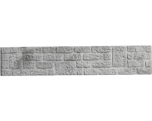 Plaque de clôture en béton Standard Romania 200x38,5x3,5cm