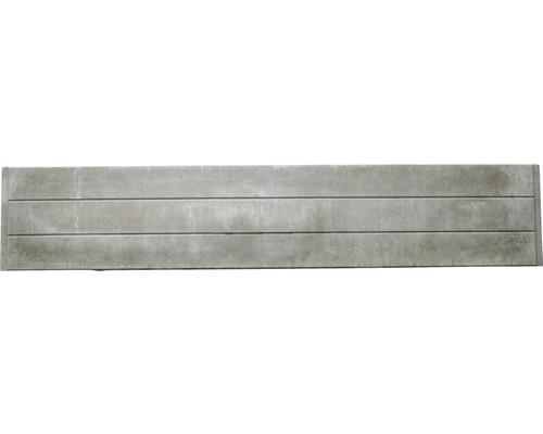 Plaque de clôture en béton Standard Prestige Glatt 200x38,5x3,5cm