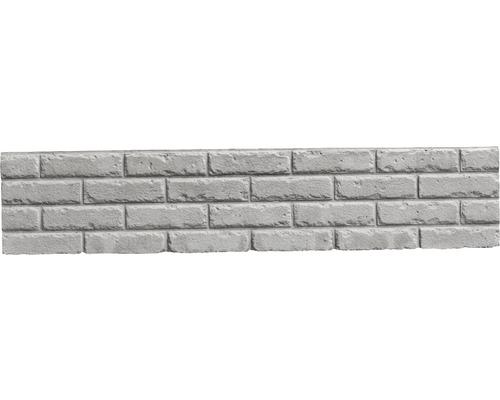 Plaque de clôture en béton Mediterran Klassik Stein 144x30x4cm