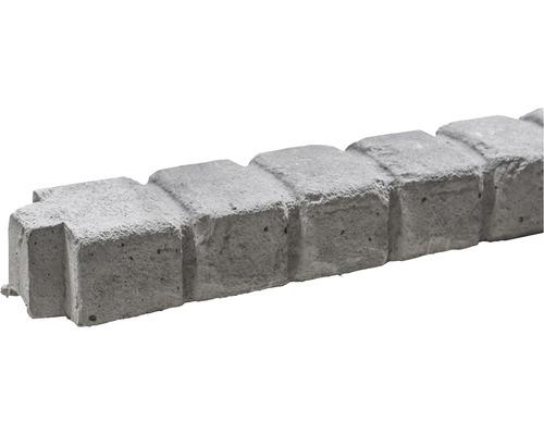 Barre supérieure de clôture en béton Mediterran Klassik Stein 144x10x6cm