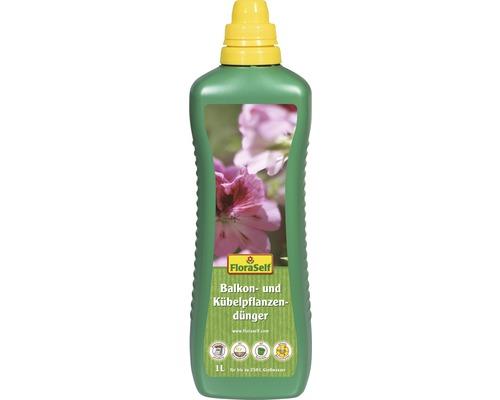Engrais pour plantes de balcon et en bacs FloraSelf 1L