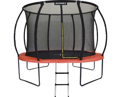 Trampoline Marimex Premium Ø 366 cm avec filet de sécurité et échelle