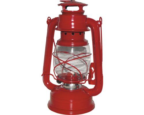 Lanterne tempête Ø 15 H 25 cm rouge