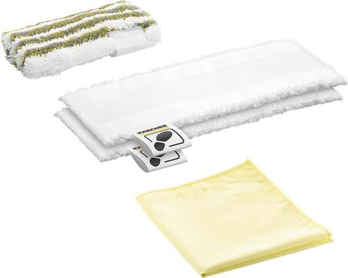 Set de chiffons microfibres pour nettoyeur à vapeur Kärcher SC