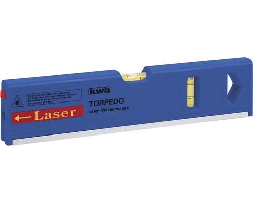 Torpedo Laser Wasserwaage kwb 27 cm