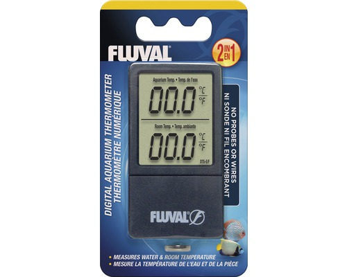 Thermomètre digital Fluval 2 en 1 sans fil