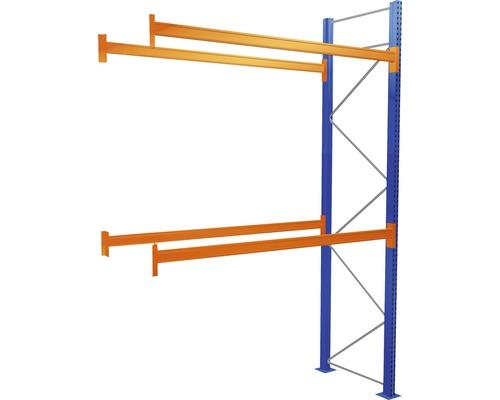 Étagère à palettes étagère annexe avec 3 niveaux, 1 compartiment de 2.700 mm pour palettes jusqu''à 730 kg capacité de charge 5870 kg