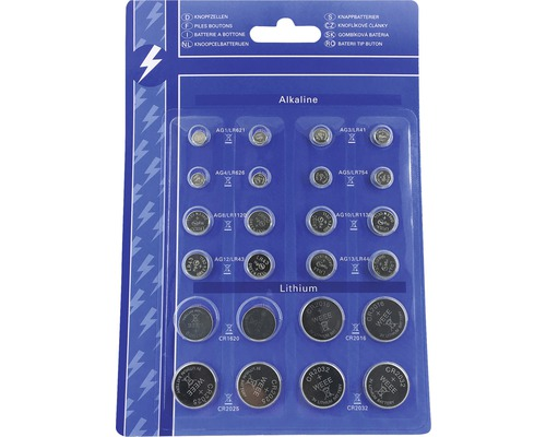 Piles rondes Depot 24 pièces