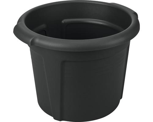Pot à pommes de terre elho Green Basics en plastique Ø 32 x 26 cm noir