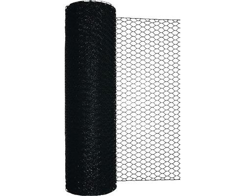Grillage triple torsion, maillage 25mm, 10x1m vert